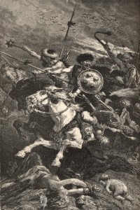 De Neuville - The Huns at the Battle of Chalons
